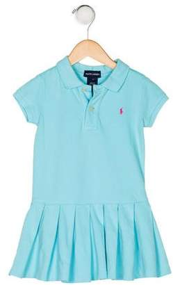 Ralph Lauren Girls' Short Sleeve Polo Dress