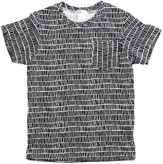 theMINIclassy The Stix Print Pocket T-Shirt