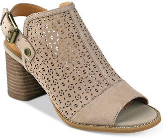 Tommy Hilfiger True Perforated Peep-Toe Shooties $79 thestylecure.com