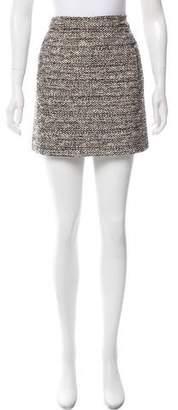 Balenciaga Tweed Mini Skirt
