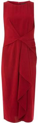 Dorothy Perkins Womens **Luxe Cranberry Crepe Pencil Dress