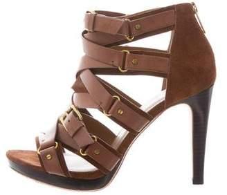 KORS Caged Buckle Sandals