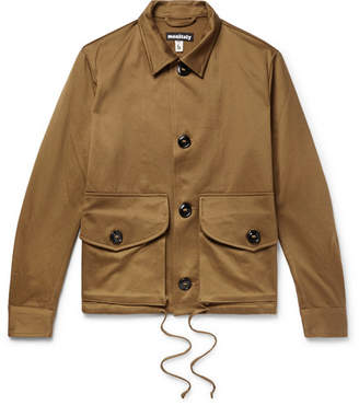 Monitaly Military Service Type A Cotton Jacket