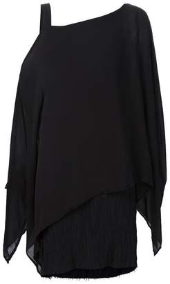 Lost & Found Ria Dunn one shoulder asymmetric tunic