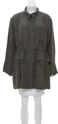 Balenciaga Silk Lightweight Coat