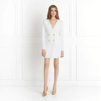 Rachel Zoe Betty Double-Breasted Wrap Effect Mini Dress