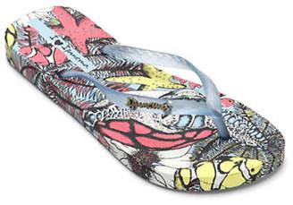 Ipanema Underwater-Print Flip Flops
