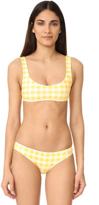 Solid & Striped Elle Bikini Top $88 thestylecure.com
