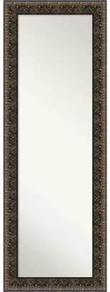 Amanti Art Intaglio Embossed 19x53 On The Door/Wall Mirror