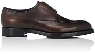 Prada Men's Split-Toe Leather Bluchers