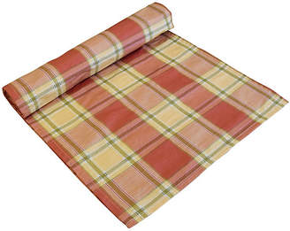 One Kings Lane Vintage Farmhouse Country Plaid Table Runner