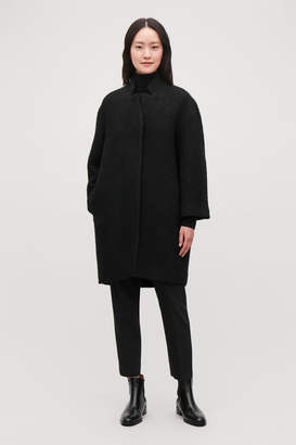 Cos BOUCLE-WOOL COCOON COAT