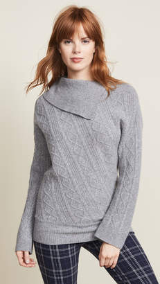 Pringle Roll Neck Cable Sweater