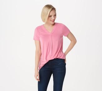Laurie Felt Short Sleeve V-Neck T-Shirt