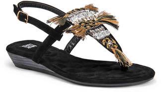 Muk Luks Lucile Wedge Sandal - Women's