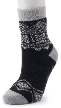 Columbia Women's Fairisle Thermal Crew Socks