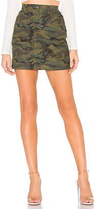 by the way. Bela Camo Mini Skirt.