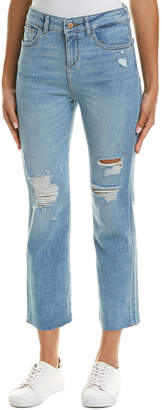 DL1961 Premium Denim Jerry Woodstock High-Rise Vintage Straight Leg