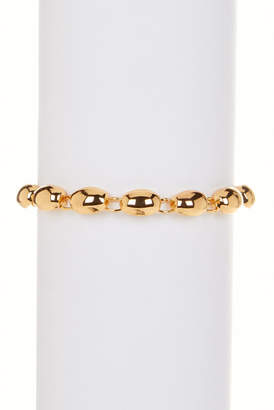 Elizabeth and James 23K Gold Plated Jana Bracelet