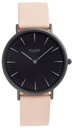 Women's Cluse La Boheme Leather Strap Watch, 38Mm $99 thestylecure.com