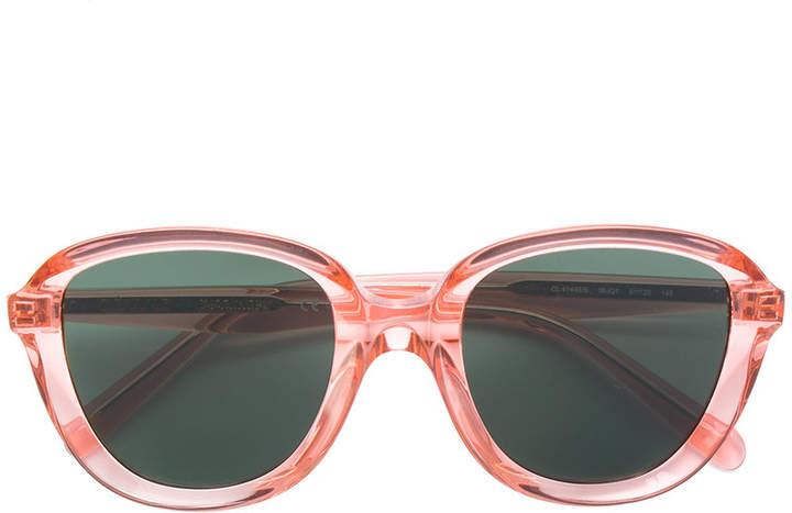 Celine clear frame sunglasses