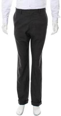 Dolce & Gabbana Flat-Front Dress Pants