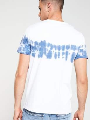 Tie Dye T-Shirt - White