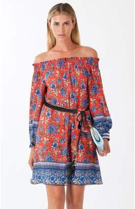 Hale Bob Clary Off-Shoulder Dress