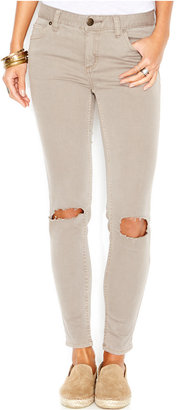Free People Destroyed Skinny Jeans $78 thestylecure.com