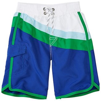 Boys Cargo Board Shorts With UPF 50+ $42 thestylecure.com