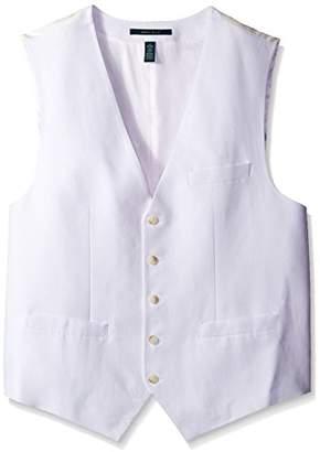 Perry Ellis Men's Big-Tall Big and Tall Linen Blend Suit Vest