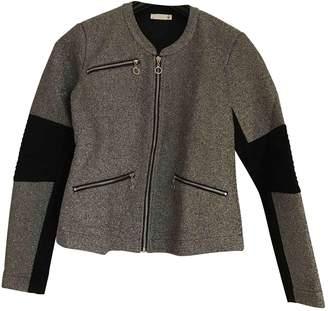 Supertrash Grey Glitter Jacket for Women