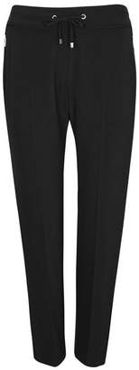 Wallis Black Side Pipe Tapered Fit Jogger