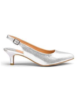 1e13048dee Jd Williams Flexi Sole Kitten Heel Shoes D Fit