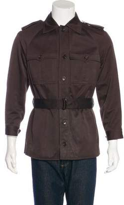 Tom Ford Belted Shirt Jacket