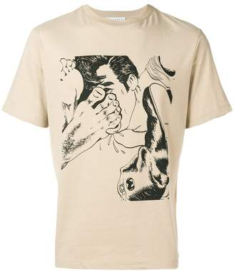 J.W.Anderson printed crew neck T-shirt