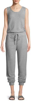 Onia Gabrielle Sleeveless Cotton Jumpsuit