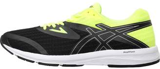 Asics Mens Amplica Neutral Running Shoes Black/Silver/Safety Yellow
