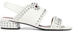 3.1 Phillip Lim Studded Leather Slingback Sandals