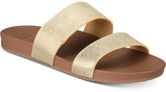 Reef Cushion Bounce Vista Slide Sandals Women Shoes