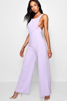 boohoo Tall Janie Tailored Cami Jumpsuit
