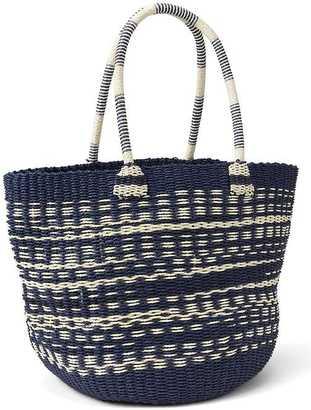 Stripe straw tote $49.95 thestylecure.com