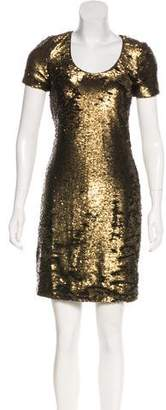 Halston Sequin Mini Dress w/ Tags