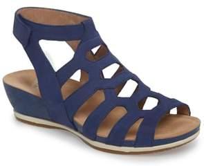 Dansko Valentina Caged Wedge Sandal