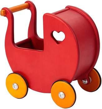 Moover Mini Doll's Pram, Red