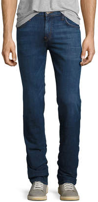 J Brand Kane Clean Wash Straight-Leg Denim Jeans