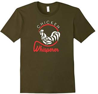 Chicken Whisperer TShirt Cool Vintage Farmer Beard Cotton US