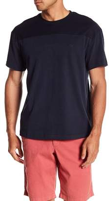 Original Penguin Short Sleeve Sueded Pieced Tee
