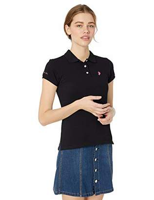 U.S. Polo Assn. Women's Classic Fit Pique Polo Shirt