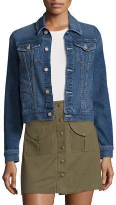 Mother Women's The Pocket Bruiser Denim Jacket